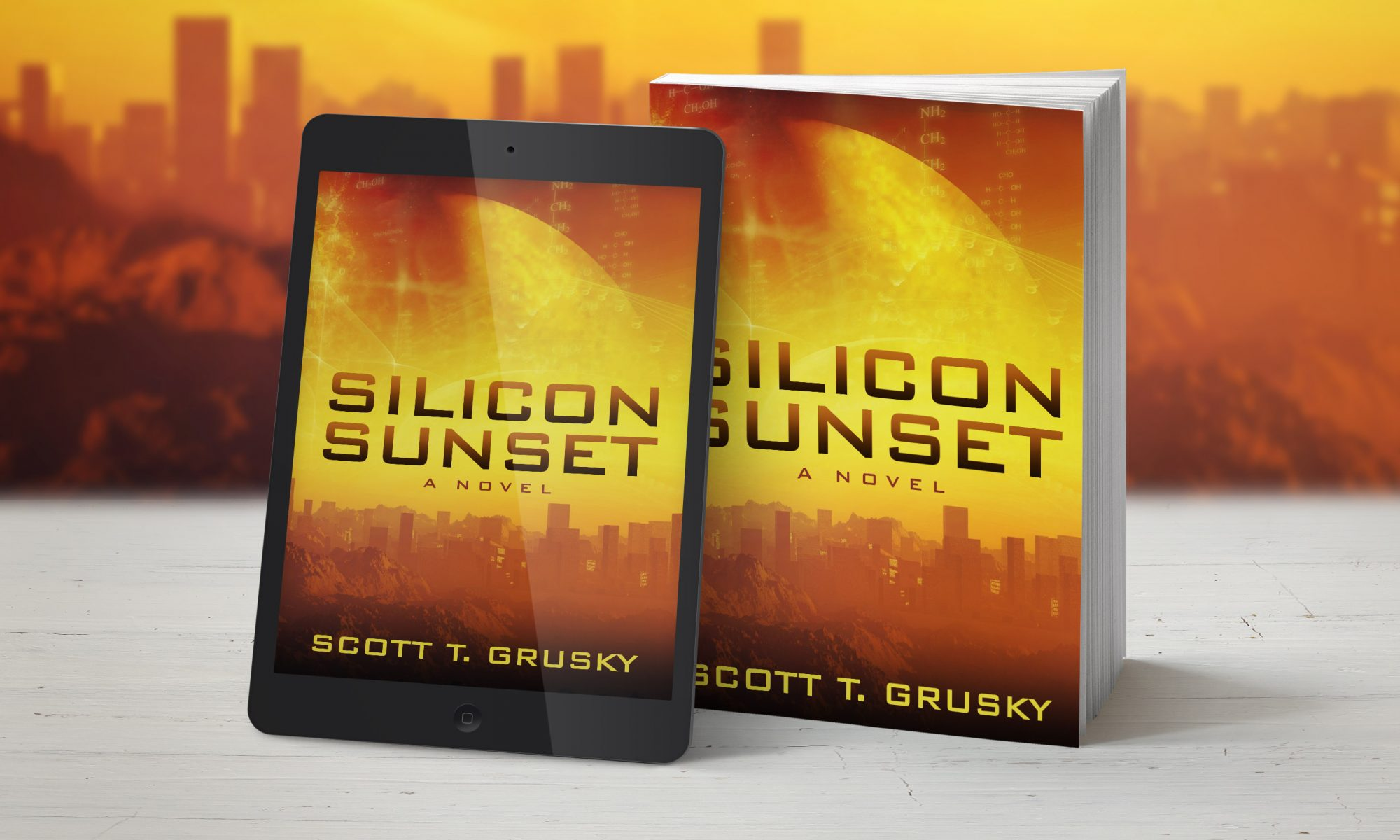 Silicon Sunset by Scott T. Grusky